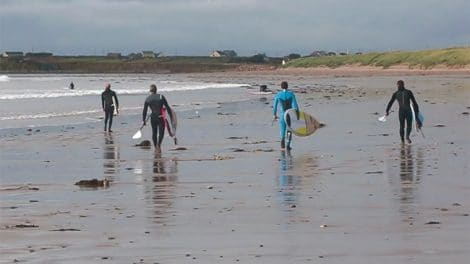 Vidéo Stand up Paddle Trip en Irelande
