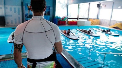 Aqua Stand Up, du stand up paddle en piscine !