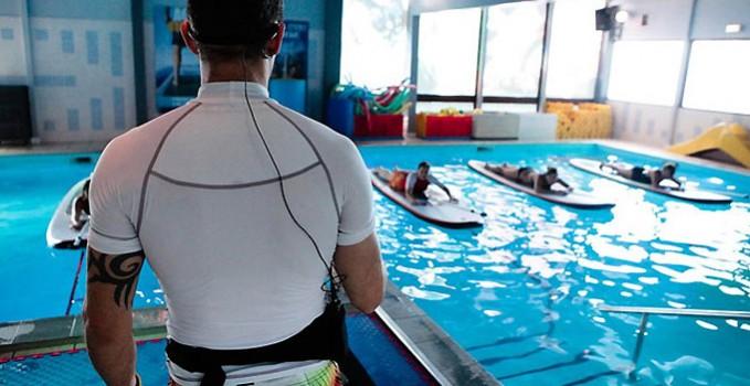 Aqua Stand Up, du stand up paddle en piscine