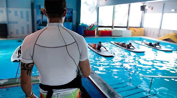 Aqua Stand Up, du stand up paddle en piscine !