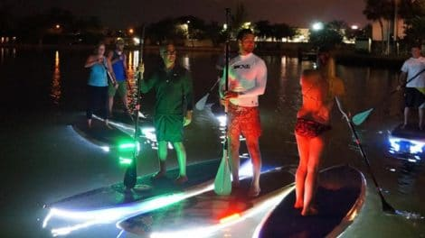 Night Sup, faites du stand up paddle la nuit !
