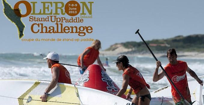 Oléron Island Stand up paddle Challenge 2013