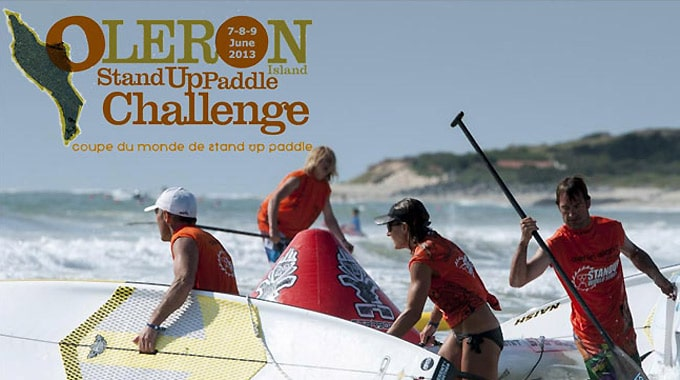 Oléron Island Stand up paddle Challenge 2013