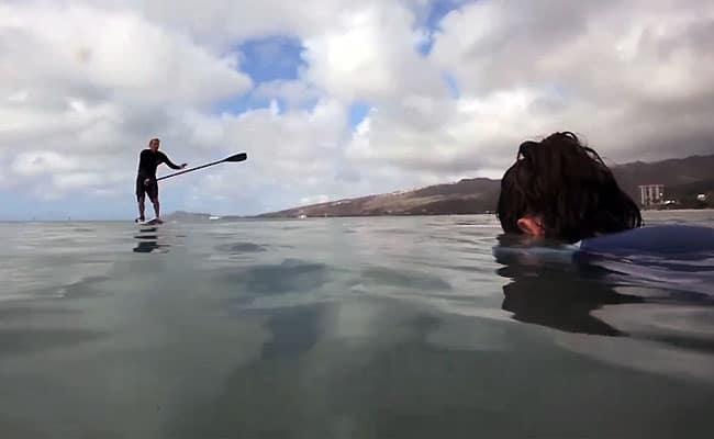 Comment sauvez une vie avec son stand up paddle ?