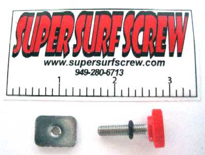 Super Surf Screw visse pratique et rapide d'aileron !