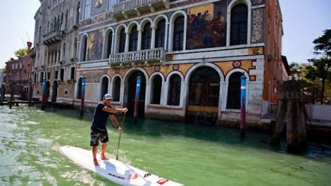 Robby Naish s'offre Venise en Stand Up Paddle