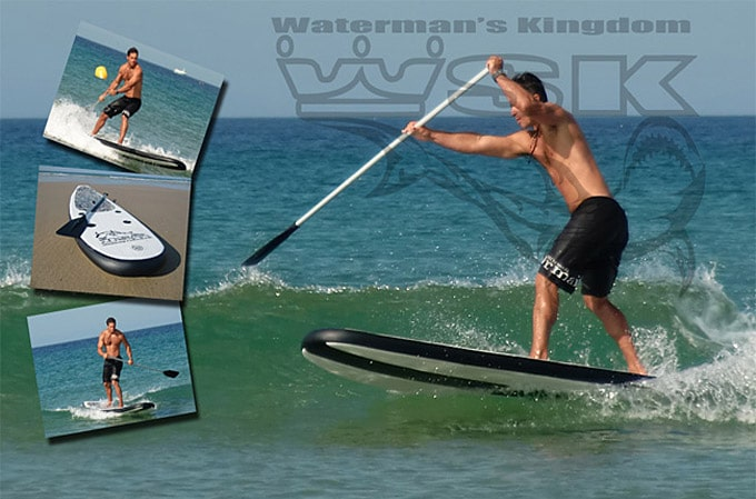 Waterman's Kingdom fabricant français de stand up paddle
