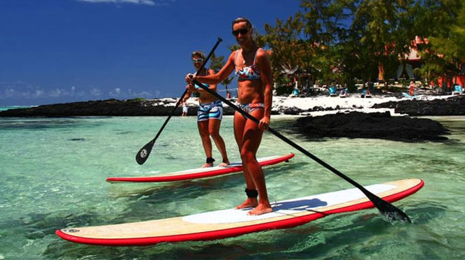 Mauritius Stand up paddle Challenge 2013