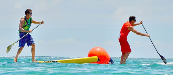 Mauritius Stand Up Paddle Challenge décembre 2013