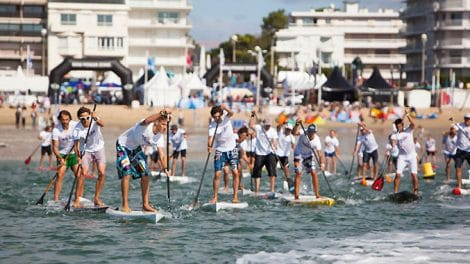 Du stand up paddle au Derby Kite de la Baule 2013
