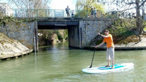 Stand Up Paddle Paris à Joinville-le-Pont