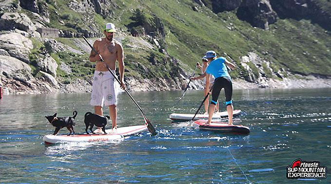 Retour sur l'Artouste stand up paddle Mountain Expérience