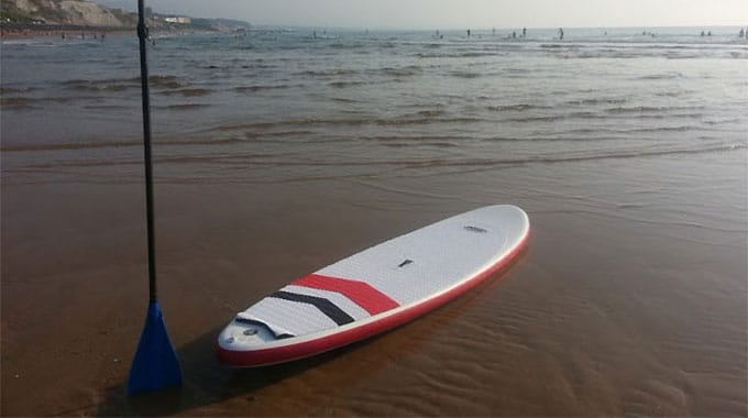 On a testé la F-One Matira 9'6 gonflable