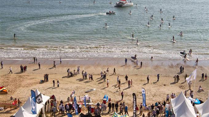 Derby stand up paddle baie La Baule