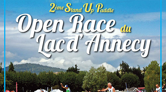 2ème Stand up paddle Open Race Lac d'Annecy 2013