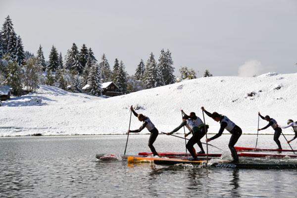 Alpine Lakes Tour La Clusaz : La neige et le soleil pour une étape de rêve !