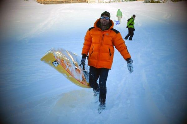 alpine-lakes-tAlpine Lakes Tour La Clusaz : La neige et le soleil pour une étape de rêve !our-la-clusaz-neige-5