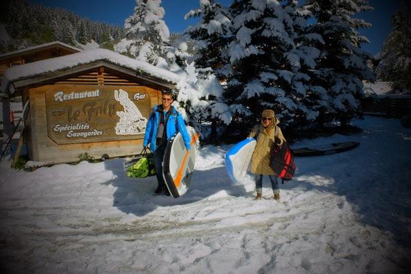 alpine-lakes-tAlpine Lakes Tour La Clusaz : La neige et le soleil pour une étape de rêve !our-la-clusaz-neige-6