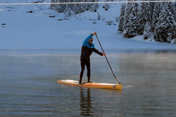 alpine-laAlpine Lakes Tour La Clusaz : La neige et le soleil pour une étape de rêve !kes-tour-la-clusaz-neige-7