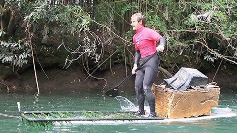 Le 25 mai dernier eut lieu dans le Pays Basques, une course de stand up paddle afin de nettoyer la rivière Urumea à Saint-Sébastien !