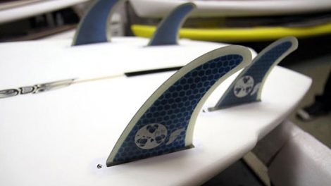La gamme Future Fins de dérive stand up paddle