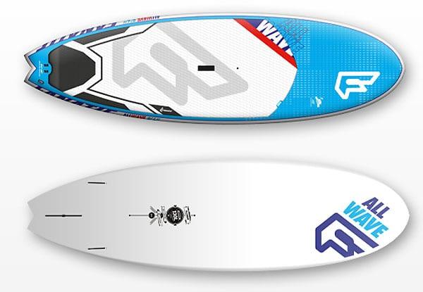 Les nouveaux stand up paddle Fanatic 2014 F14 AllWave