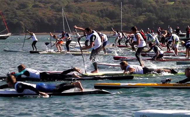 Presqu'île Paddle Race dans le Finistère