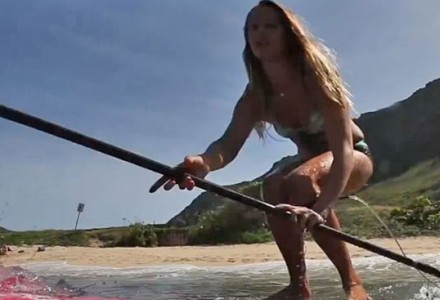 Talia Gangini, reath series, sexy rideuse stand up paddle