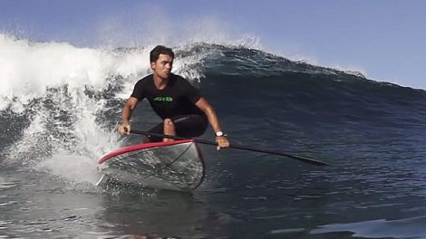 Tou Korek, stand up paddle trip by F-One