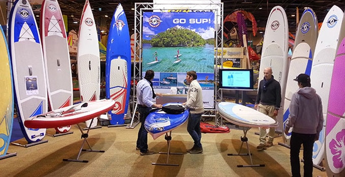 Nouvelle cross platinium bic ace tec salon nautique paris for Salon nautisme paris