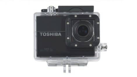 La caméra embarquée Toshiba Camileo X-Sports Salon Nautique Paris 2013