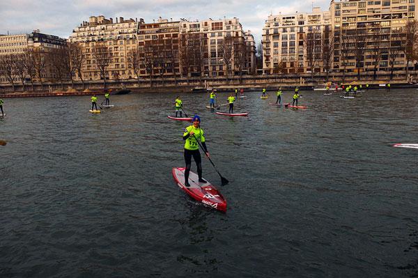 Le Nautic Sup Paris Crossing 2013