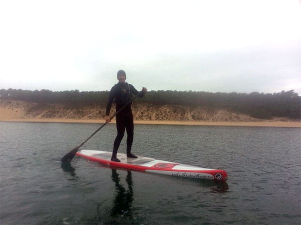Stand up paddle trip Albufeira au Portugal