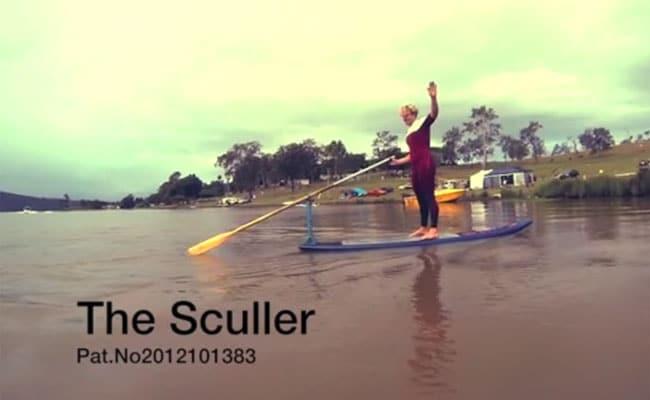 The Sculler, une autre manière de ramer !