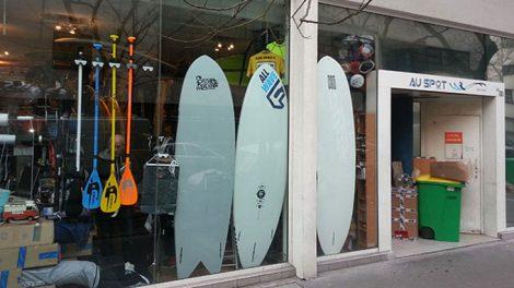 """Stand up paddle shop sur Paris """"Au spot"""""""