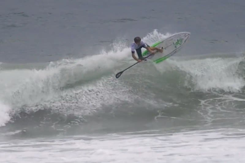 Vidéo stand up paddle de Benoit Carpentier en Bretagne