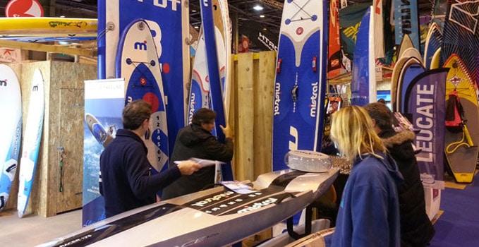 Mistral Stand up paddle M2 Race Salon Nautique Paris 2013