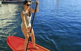 RTM Stand up paddle PE 10′ Salon Nautique Paris 2013