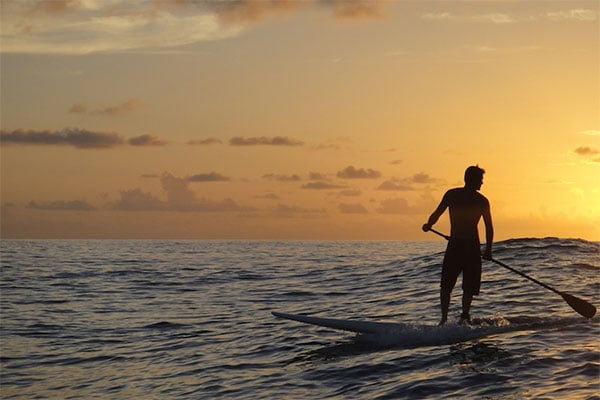 Saint Martin Stand up paddle