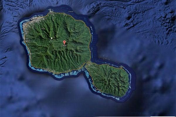Tahiti stand up paddle