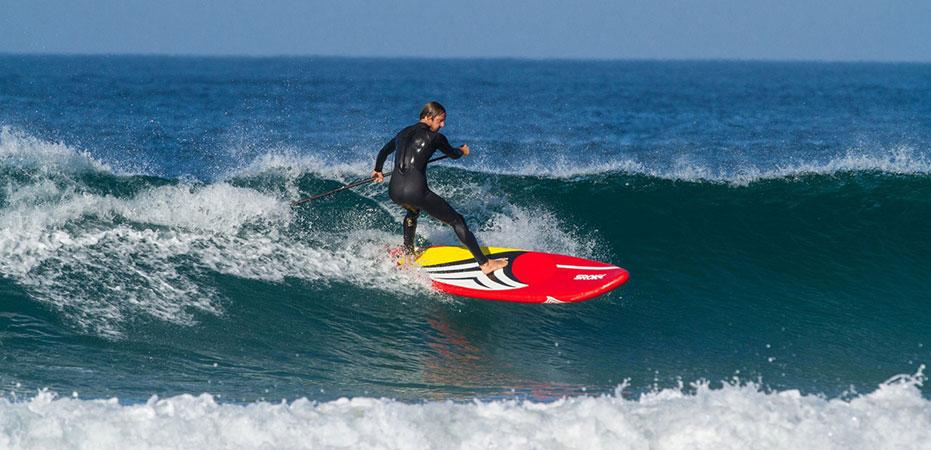 Bruno Sroka nous présente sa nouvelle marque de stand up paddle