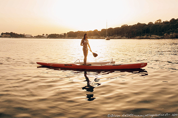Interview exclusive de notre championne en stand up paddle Céline Guesdon