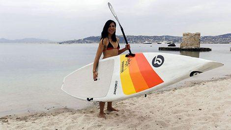 Interview exclusive de notre championne en stand up paddle Céline Guesdon