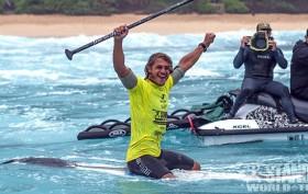 Cinquième édition du Sunset Pro 2014 stand up paddle à Hawaï