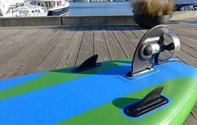 ElectraFin Current Drives, un stand up paddle à moteur électrique !