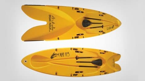 Un stand up paddle rigide mais pliable !