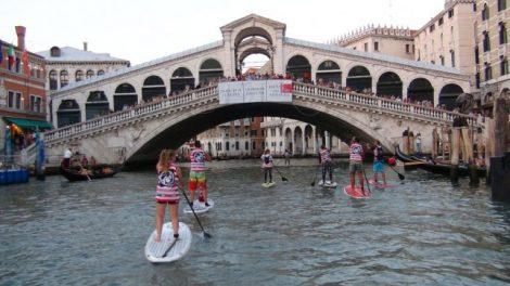 Faire du stand up paddle à Venise !