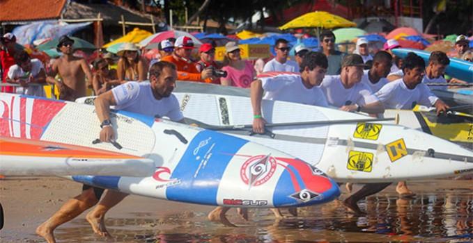 Eric Terrien, termine à la 8ème place de la compétition au Brésil