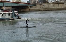 La réglementation du stand up paddle en « eau vive »