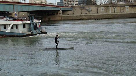 """La réglementation du stand up paddle en """"eau vive"""""""